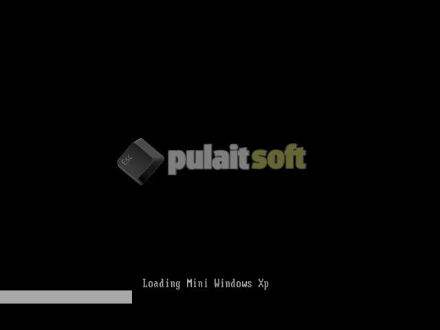 Cargando instalación Mini Windows XP