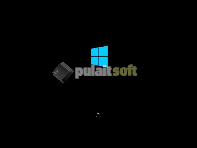 Cargando archivos de instalación de Windows 8