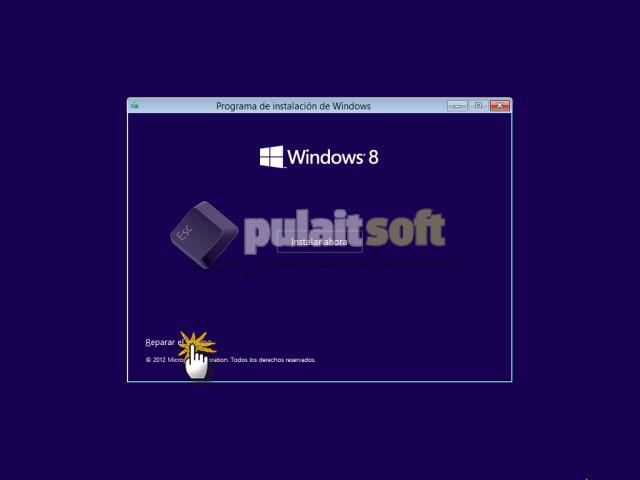 Reparar Windows 8