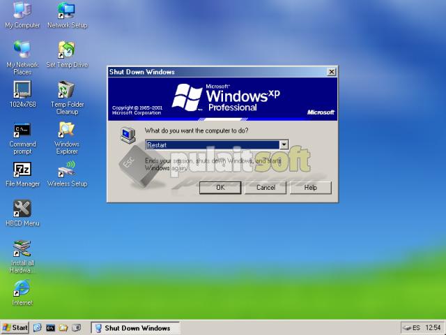 Reiniciar Mini Windows XP