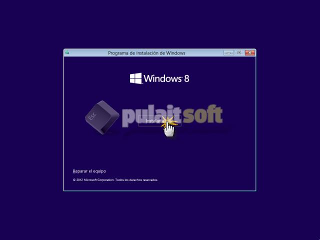 Instalar ahora Windows 8